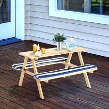 childrens wooden picnic table benches kids folding picnic table picnic table bench combo kids wooden