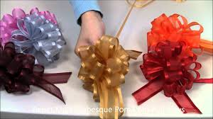 pull bows arabesque pom pom pull bows from paper mart
