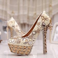 Wedding Shoes Singapore Aliexpress Com Buy Size 34 43 Plus Size Gorgeous High Heel