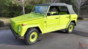 1974 volkswagen thing vw thing trekker type 181 body off restoration