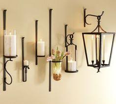 Hurricane Candle Wall Sconces Elnstone Court U201d Blacksmith Style Wall Mounted Candle Holder