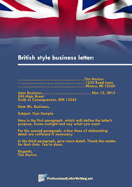 American English Business Letter Format