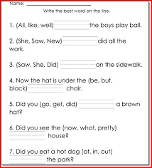 reading printable worksheets worksheets