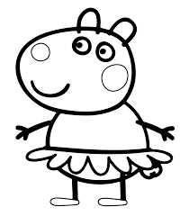 halloween sketches and drawings free coloring pages of peppa pig