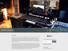 how to build a website for your recording studio