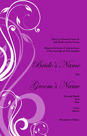 Invitation Card Of Opening Ceremony Wedding Invitation Background Designs Purple Yaseen For