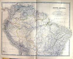 Map Of Bolivia South America by 26 Print South America Galapagos Islands Bolivia Johnston Map 1883