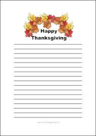 thanksgiving writing paper free printable templates thanksgiving