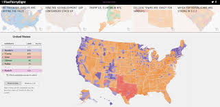 Election Map 2016 by If Facebook U0027likes U0027 Were Votes Here U0027s How The 2016 Election Would