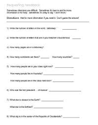following directions u2013 worksheets activities goals and more