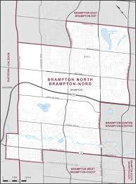Map Of Ontario Canada Brampton North Maps Corner Elections Canada Online