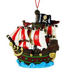 swashbuckling pirate christmas tree ornaments
