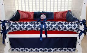 bedding set red crib bedding amazing navy blue and white bedding