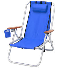 Rio 5 Position Backpack Chair Wet Products Wearever Hi Back Aluminum Backpack Beach Chair At
