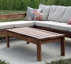 outdoor wood coffee table a outdoor coffee table elegant decoration of garden boshdesigns com