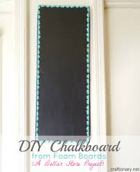 Decorative Chalkboard For Home by Craftionary
