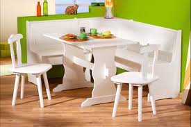 Painting Laminate Floor Painted White Wooden Kitchen Table And Chairs With Bench And