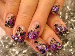 halloween nail art halloween nail acrylic art class nails
