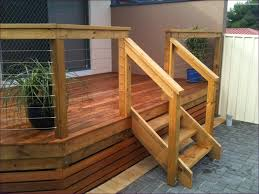 Porch Steps Handrail Outdoor Marvelous Outdoor Railings Build Wood Deck Stairs