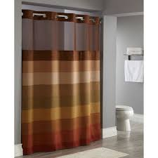 Hotel Shower Curtain With Snap In Liner Hookless Rbh40ls01 Shower Curtain Lowe 39 S Canada Hookless