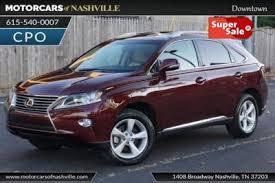 lexus of nashville used lexus rx 350 for sale in nashville tn cars com