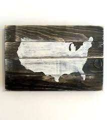 usa map wood large wood artwork and woods