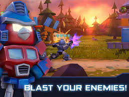 angry birds transformers app store