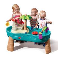 tall sand and water table amazon com splish splash seas water table toys games