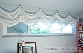 How To Make Basic Curtains Diy Balloon Shades Simple Practical Beautiful