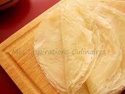 cuisiner la feuille de brick feuilles de brick maison le cuisine de samar
