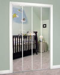 Slimfold Closet Doors Slimfold Bifold And Overlay Mirrored Doors Dunbarton Corporation