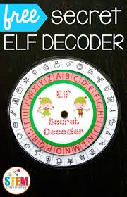 free secret elf decoder awesome christmas stem activity at the