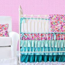 Polka Dot Bed Sets by Bedroom Stylish Pink Chevron Baby Bedding Sets With