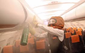 psbattle flight attendant during cabin fire training