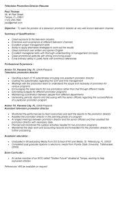 Resume For A Program Director by Film Resume Template Best Business Tv Production Assistant Sample
