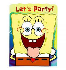 spongebob birthday invitations free 28 images 10 spongebob