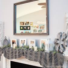 Large Decorative Mirrors Diy Rustic Mirror A Houseful Of Handmade