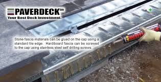 light gauge steel deck framing paverdeck lifetime maintenance free decks