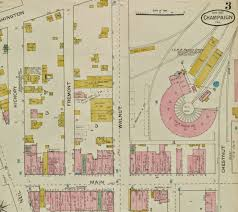 Illinois Road Construction Map by Champaign History