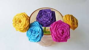 how to make a beautiful tissue paper rose diy crafts tutorial how to make a beautiful tissue paper rose diy crafts tutorial guidecentral youtube