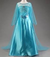 frozen elsa costume dress dolls and shoes for all