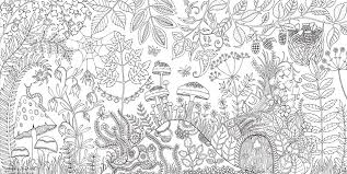 fashionable design garden coloring book adults