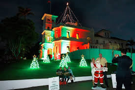 house christmas lights christmas lights government house must do brisbane