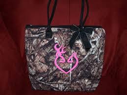 Pink Camo Bathroom Browning Camo Purses Custom Camouflage Camo Browning Inspired