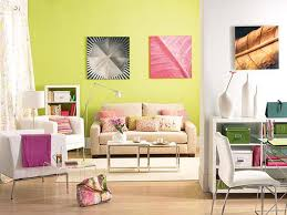 Livingroom Themes by Cozy Bright Living Room With Yellow Walls And Pillows On