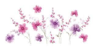 home decoration flowers wallpops home decor line spring flowers wall decal u0026 reviews
