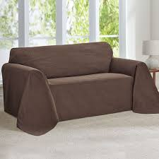 Slipcovers For Leather Recliner Sofas Furniture Leather Sofa Covers And Fitted Slipcovers For Couches