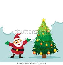 merry celebration concept tree stock vector
