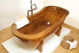 wooden bathtub timber baths and basins the owner builder network