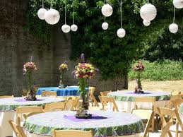 Cheap Party Centerpiece Ideas by Outstanding Fall Outdoor Party Decoration Ideas As Cheap Article